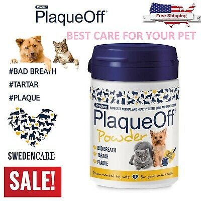 Proden Plaque Off For Cats and Dogs - 60g, NATURAL, Gum Health Cat Dog Hygiene