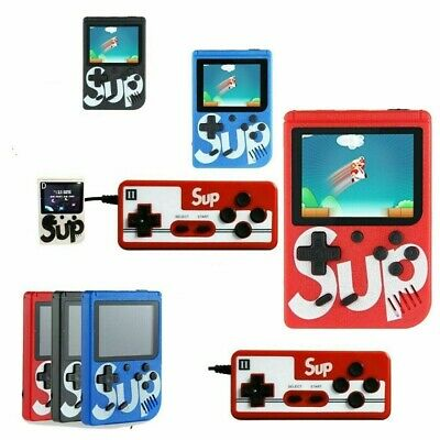 Sup game box mini console portatile 400 giochi game boy videogioco + joystick