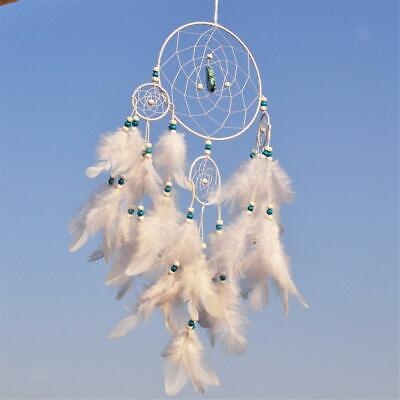 Small Feathers Handmade Dream Catcher Capture Beautiful Dreams 400mm Length