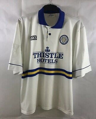 Leeds United Home Football Shirt 1993/95 Adults XXL Asics B84