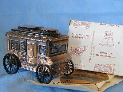 BANTHRICO CIRCUS WAGON BANK W/LETTER and BROCHURE