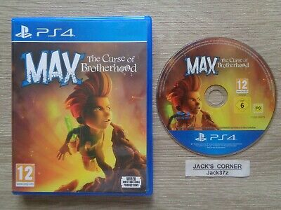Max The Curse of Brotherhood  PS4 Game - 1st Class FREE POSTAGE