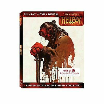 Hellboy - Limited Edition Steelbook [Blu-ray - DVD] New and Sealed!!