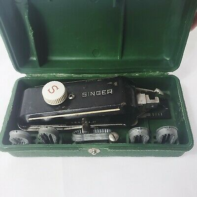 Vintage Singer Hand Held Button Holer Untested