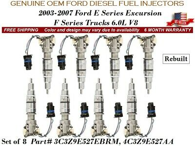6.0L Diesel Injector VT275 VT365 OEM Reman New Spool Valve International 4.5L