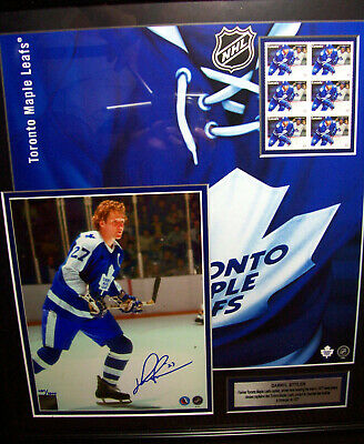 DARRYL SITTLER Toronto Maple Leafs Limited Edition Canada-Post Autographed Print