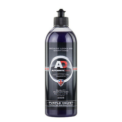 Autobrite Direct Purple Velvet Car Wash Shampoo Highly Concentrated