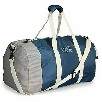 Travel Inspira Foldable Duffel Travel Duffle Bag Collapsible Packable Sport Gym