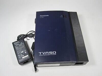 Panasonic TVA50 KX-TVA50 Voice Processing System with Power Supply AS-IS