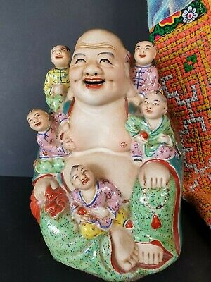 Old Chinese Fertility Buddha  …beautiful collection and display piece
