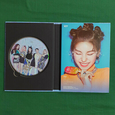 [Pre-Owned/No Photocard] ITZY Yeji cover It'z ICY Icy ver - CD/ Booklet