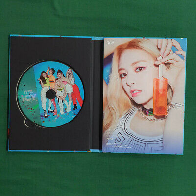[Pre-Owned/No Photocard] ITZY Yuna cover IT'z ICY IT'z ver - CD/ Booklet