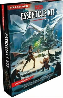 Dungeons & Dragons Essentials Kit (D&D Boxed Set) (Game –2019) r
