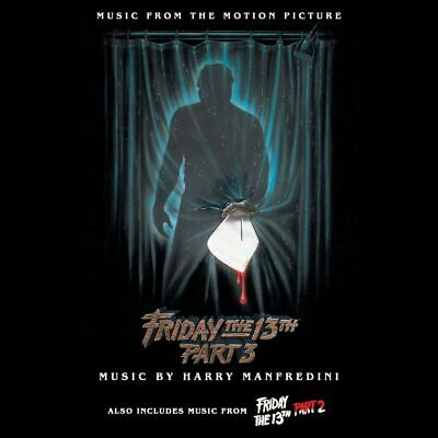 Friday the 13th Parts 2 & 3 Music from Motion Pictures Harry Manfredini Limited