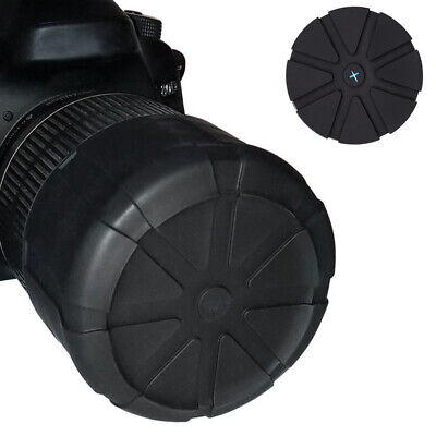 Waterproof Lens Cover Protector For DSLR SLR Camera Universal Anti-Dust Silicone