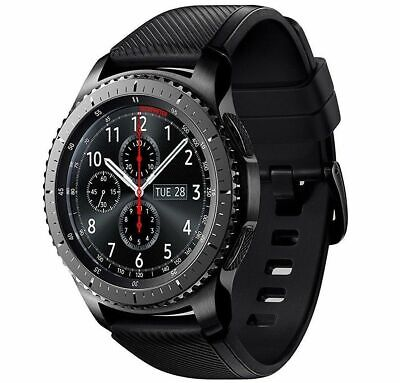 NEW Samsung Galaxy Gear S3 Frontier SM-R765T T-Mobile 4G Smart Watch 46mm Gray