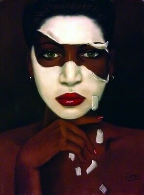 The Skin I/'m In Laurie Cooper African American Art Print 25x19