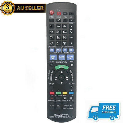 N2QAYB000979 Remote for Panasonic DVD Recorders DMRPWT540 DMRPWT540GL DMR-PWT5