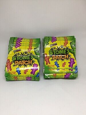 NEW Stoney Patch Mylar Resealable Packaging ONLY Free Shipping