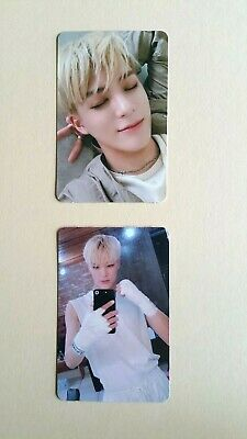 NCT dream We Boom The 3rd Mini album Official Photocard Photo card - Jeno Set