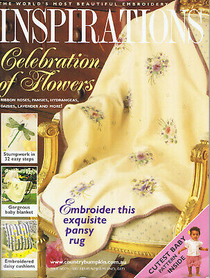 INSPIRATIONS MAGAZINE issue 29 pattern attached VGC