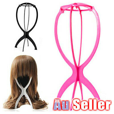 New Stand Cap Holder Stable Display Tool Hat Wig Hair Durable Folding