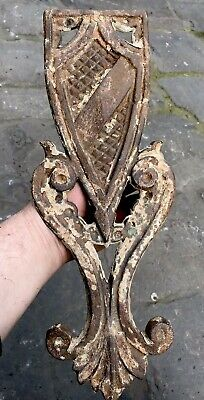 VINTAGE ANTIQUE 1880s VICTORIAN CAST IRON DECORATIVE LACE WORK CENTRE PIECE MELB
