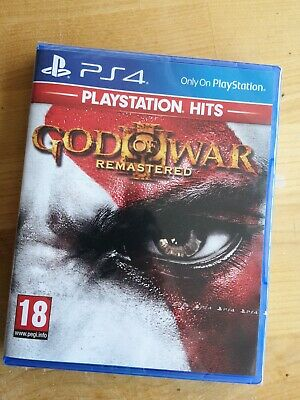 ps4 Playstation 4 hits game God of War III Remastered. New & Sealed