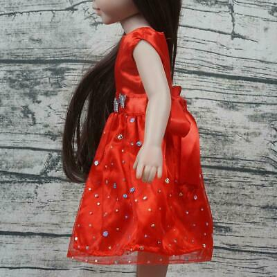 18 Inch Doll Dress Dolls' Clothes Fluffy Skirt Sequins Ameican Doll Accessories