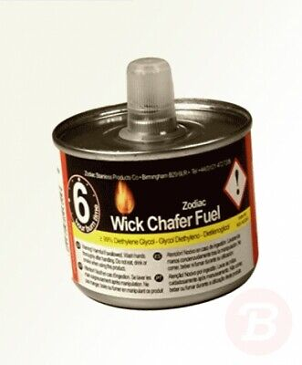 Zodiac CW6 Chafer wick Chafing Fuel 6 hour