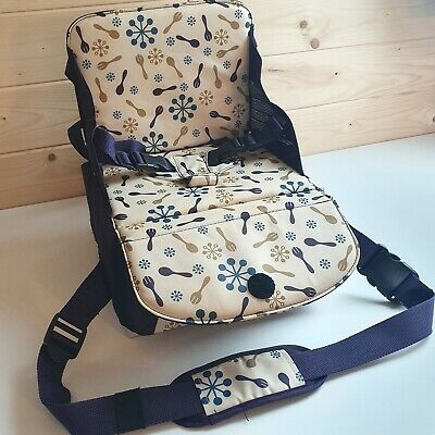 Munchkin Travel Booster Seat Portable Holiday Camping Caravan Camper Highchair