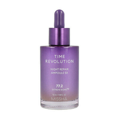 MISSHA Time Revolution Night Repair Borabit Ampoule wrinkle repairing 50ml