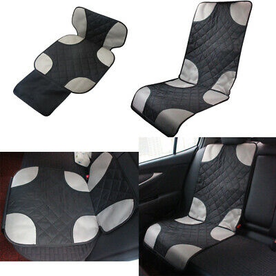 Car Seat Protector Child Baby Auto Seat Protector Mat Improved Protection Cotton