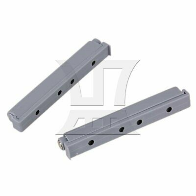 2pcs Hydraulic Ball Bearing Cabinet Door Drawer Slides With Magnetic Tip