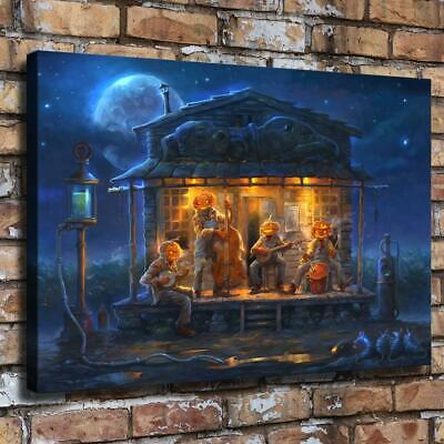 """Halloween Paty HD Canvas prints Painting Home Decor Picture Room Wall art16""""x24"""""""