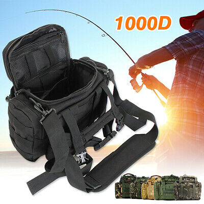 Tackle Boxes & Bags Fishing Tackle Bag Waist Shoulder Storage Carry Waterproof High Quality USA HM