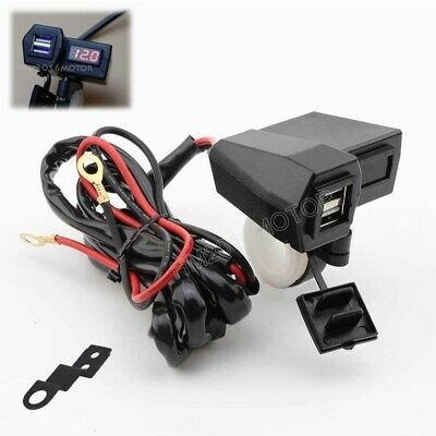 Waterproof USB Charger For Kawasaki VN Vulcan Classic MeanStreak Nomad 1600