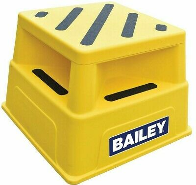 Bailey POLYMER WORK STEP Industrial 150kg Load Rated, Anti-Slip Surfaces & Feet