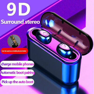 wireless bluetooth v5.0 headphone earbuds headset x9 stereo sound waterproof UK