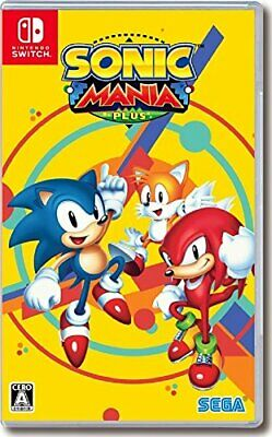SEGA Nintendo Switch SONIC MANIA PLUS Limited Box w / Soundtrack 2 CD Artbo