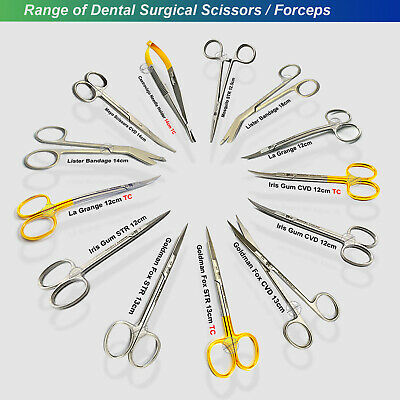 Dental Surgical Scissors Tissue Suture Dissecting Operating Shears Veterinary Ce
