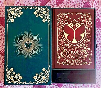 Tomorrowland 2019 Treasure Case Box Book Of Wisdom - English Language - Last !