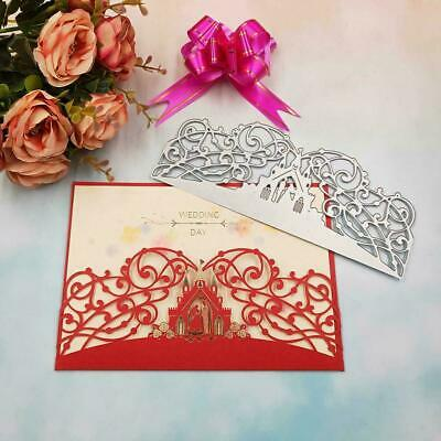 DIY Metal Cutting Dies Stencil For Scrapbooking Card Embossing Craft H1E0