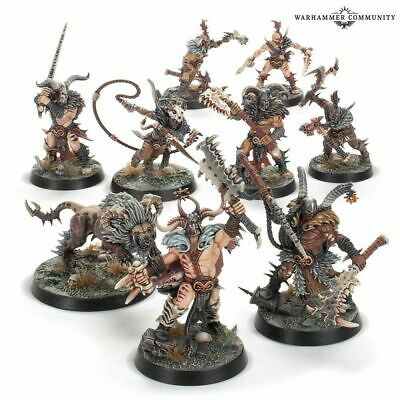 Untamed bêtes x9 - Chaos - Warhammer Warcry