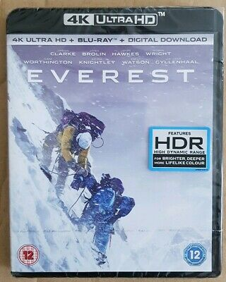 Everest - 4K Ultra HD Blu Ray New/ sealed