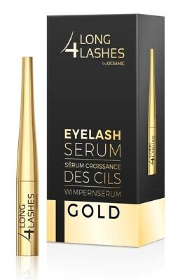 NEU! Long4Lashes Exklusives Wimpernserum GOLD 4 ml, Glamoröse Wimpern by Oceanic