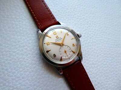 Oops!Vintage Steel OMEGA SEAMASTER Automatic Men's dress watch from 1952's year!