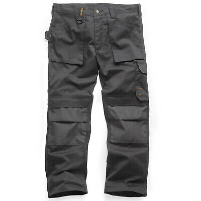 Scruffs Worker Plus Trousers Non-Holster Graphite Grey Trade (Various Sizes)