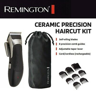 Remington Cordless Electric Hair Clipper Rechargeable Mens Groomer Trimmer Body