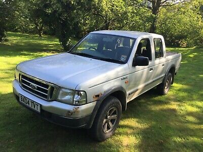 2004 Ford Ranger 4X4 Double Cab Pick Up Spares Or Repair.